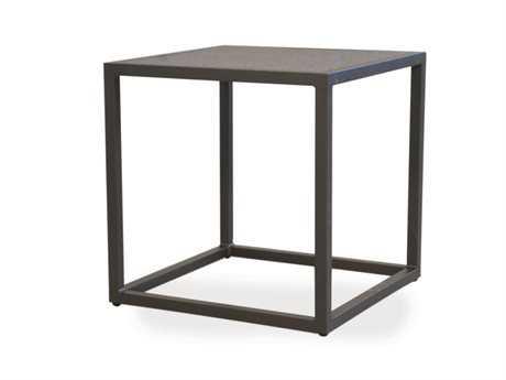 Lloyd Flanders Loft Essentials Steel 20'' Square End Table