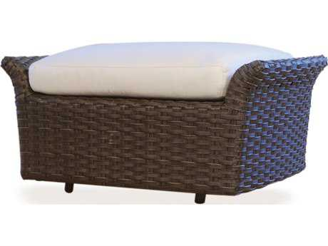 Lloyd Flanders Flair Wicker Glider Ottoman