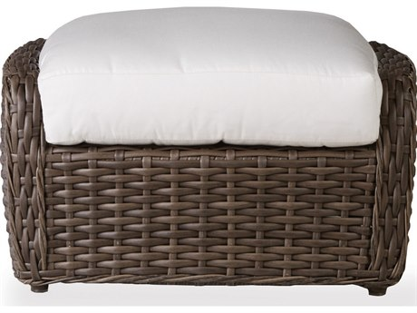 Lloyd Flanders Largo Wicker Ottoman