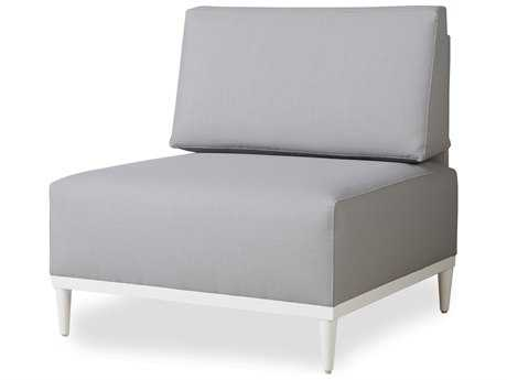 Lloyd Flanders South Beach Aluminum Armless Sectional Chair