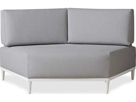 Lloyd Flanders South Beach Aluminum Wedge Sectional
