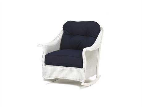 Lloyd Flanders Embassy Wicker Rocking Chair Replacement Cushions