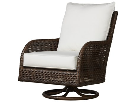 Lloyd Flanders Havana Wicker Swivel Glider Lounge Chair