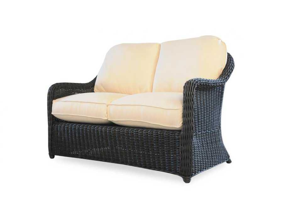 Lloyd flanders cottage replacement cushion loveseat seat back patio 266050ch Patio loveseat cushion
