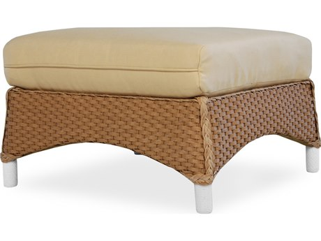 Lloyd Flanders Mandalay Wicker Side Ottoman