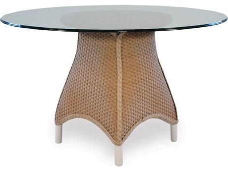 Lloyd Flanders Mandalay Wicker 48'' Round Dining Table