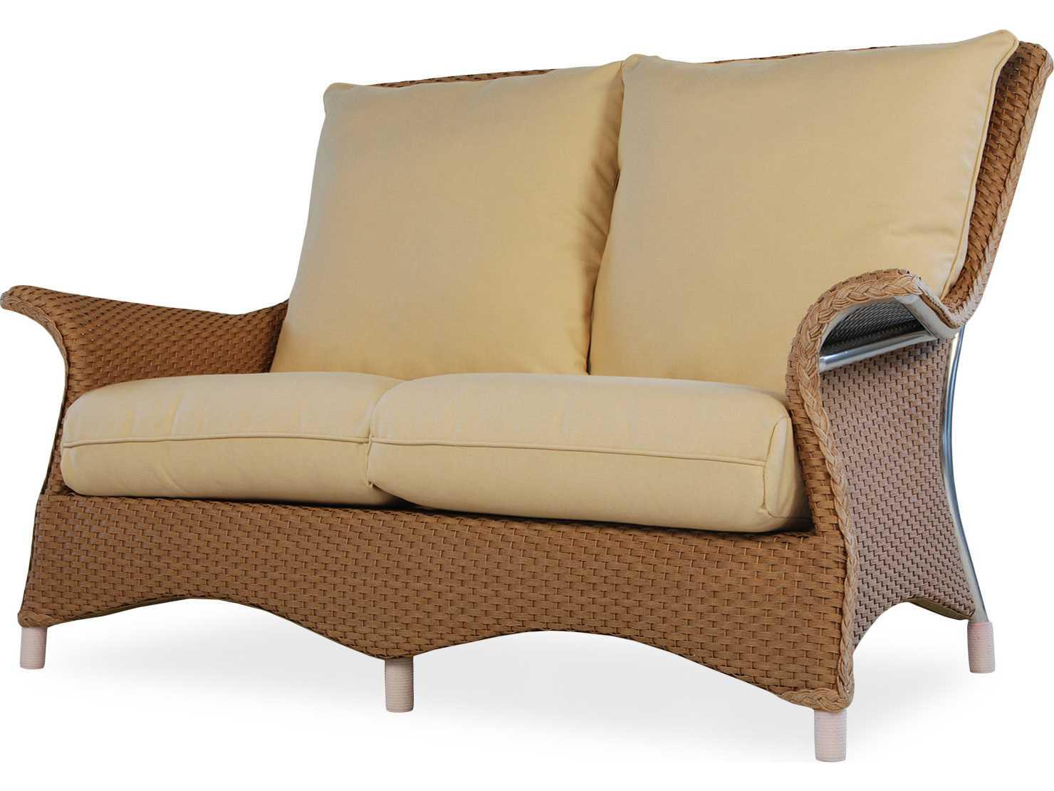 Lloyd Flanders Mandalay Loveseat Replacement Cushions