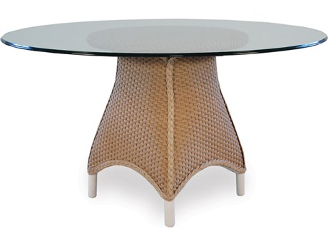 Lloyd Flanders Mandalay Wicker 54'' Round Dining Table