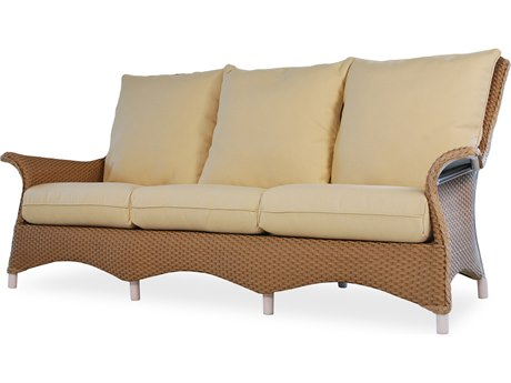 Lloyd Flanders Mandalay Wicker Sofa