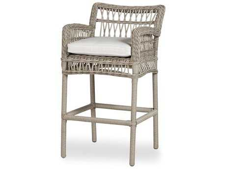Lloyd Flanders Mackinac Wicker Bar Stool