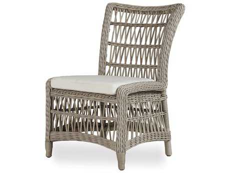 Lloyd Flanders Mackinack Wicker Armless Dining Chair