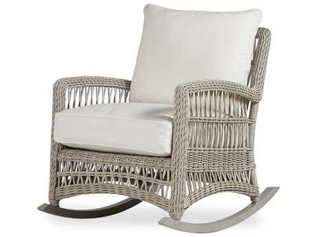 Lloyd Flanders Mackinac Wicker Lounge Rocker