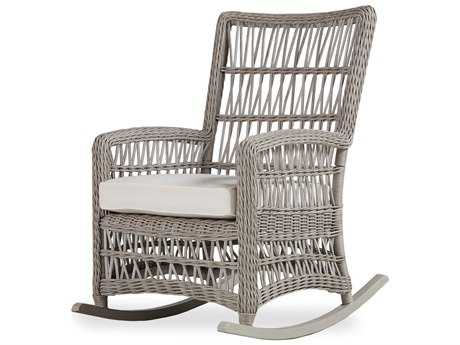 Lloyd Flanders Mackinac Wicker High Back Porch Rocker