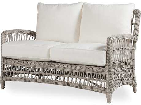Lloyd Flanders Mackinac Wicker Loveseat