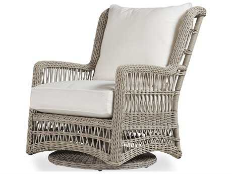 Lloyd Flanders Mackinac Wicker High Back Swivel Glider