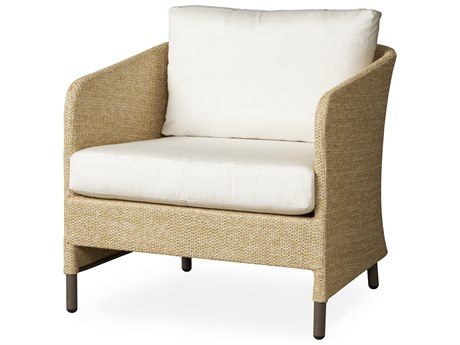 Lloyd Flanders Verona Wheat Texilene Wicker Lounge Chair PatioLiving
