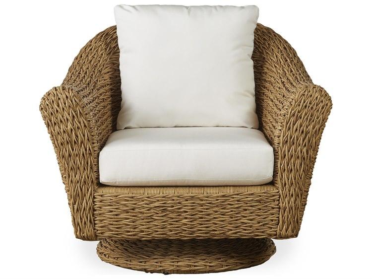 Lloyd Flanders Cayman Wicker Swivel Rocker Lounge Chair