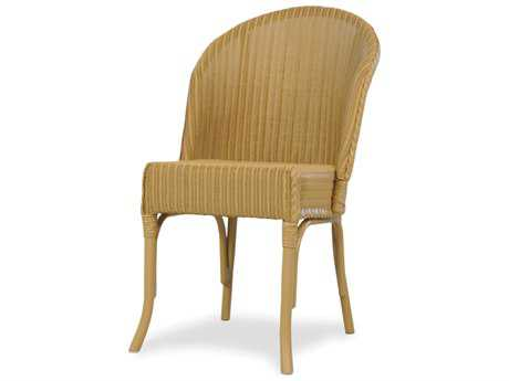 Lloyd Flanders Dining & Accessories Wicker Round Back Dining Chair