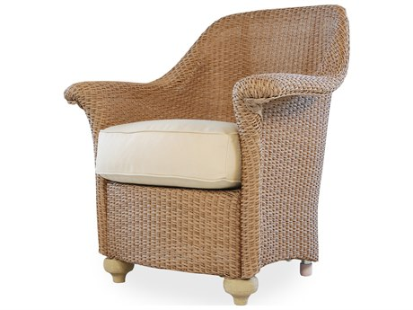 Lloyd Flanders Oxford Wicker Dining Arm Chair PatioLiving