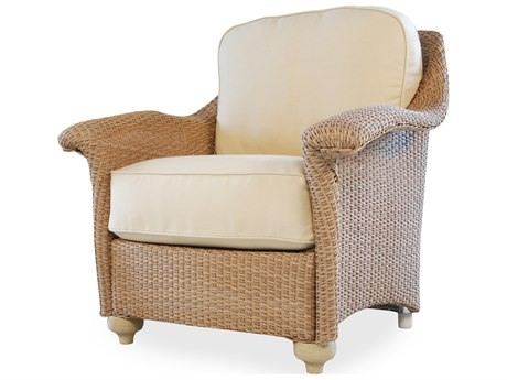 Lloyd Flanders Oxford Wicker Lounge Chair
