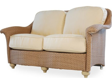 Lloyd Flanders Oxford Wicker Loveseat PatioLiving