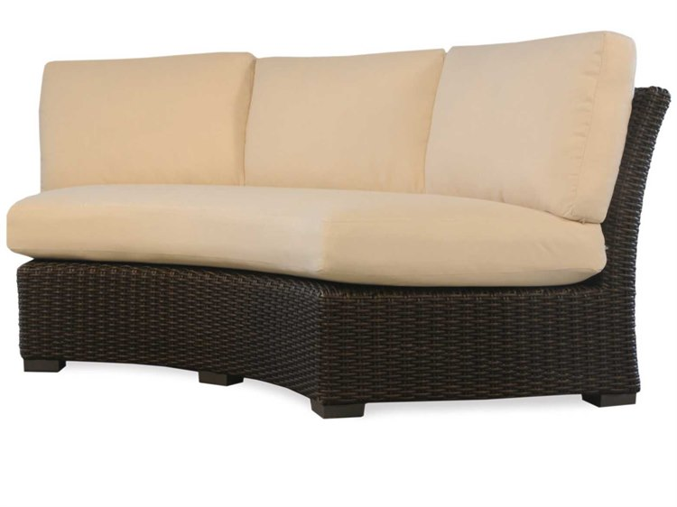 Lloyd Flanders Mesa Wicker Curved Sofa Sectional