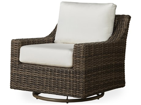 Lloyd Flanders Mesa Wicker Swivel Glider Lounge Chair