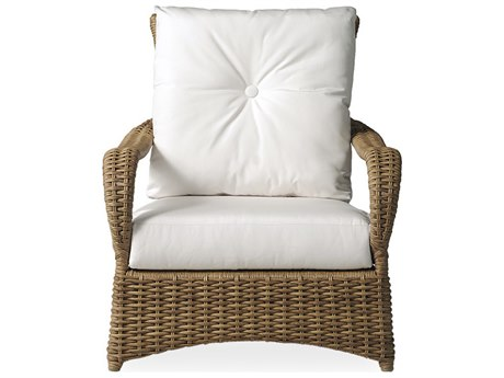 Lloyd Flanders Magnolia Wicker Lounge Chair
