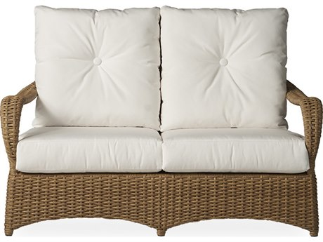 Lloyd Flanders Magnolia Wicker Loveseat