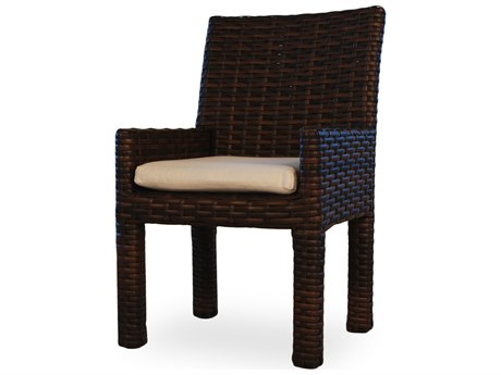Lloyd Flanders Contempo Wicker Arm Dining Chair