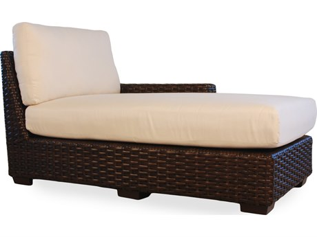 Lloyd Flanders Contempo Wicker Left Arm Chaise