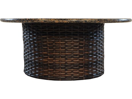 Lloyd Flanders Contempo Wicker 48'' Round Conversation Table