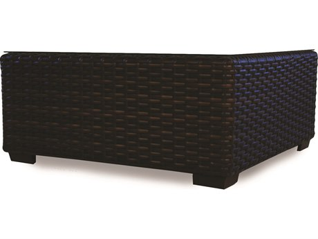 Lloyd Flanders Contempo Wicker 40'' Square Coffee Table