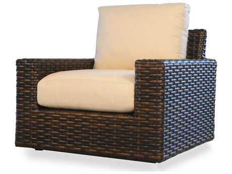 Lloyd Flanders Contempo Wicker Glider Lounge Chair