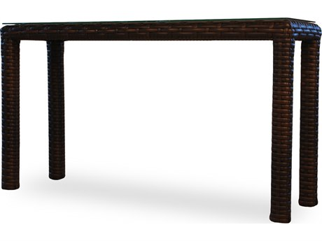 Lloyd Flanders Contempo Wicker 52'' x 16'' Rectangular Console Table