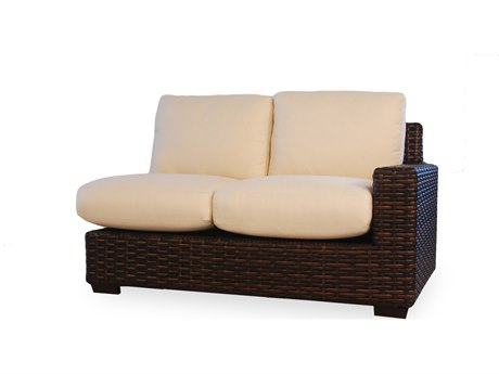 Lloyd Flanders Contempo Wicker Left Arm Loveseat