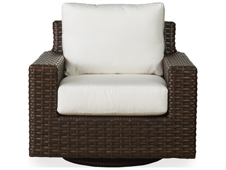 Lloyd Flanders Contempo Wicker Swivel Glider Lounge Chair