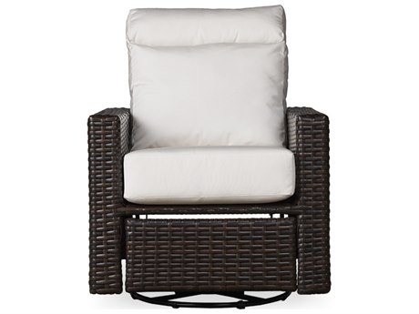 Lloyd Flanders Contempo Wicker Swivel Glider Recliner Lounge Chair PatioLiving