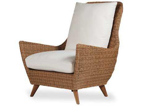 Lloyd Flanders Tobago Wicker High Back Lounge Chair