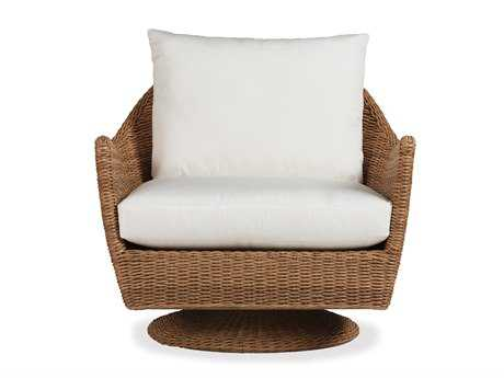 Lloyd Flanders Tobago Wicker Swivel Lounge Chair