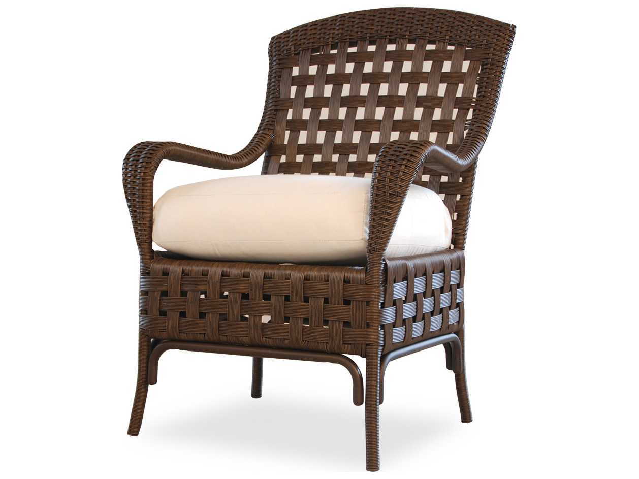 lloyd flanders haven wicker dining chair 43001. Black Bedroom Furniture Sets. Home Design Ideas
