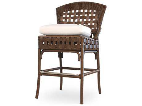 Lloyd Flanders Haven Wicker Bar Stool