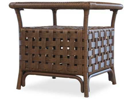 Lloyd Flanders Haven Wicker 24''Wide Square End Table PatioLiving