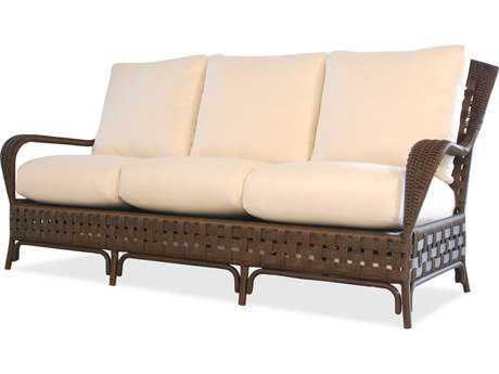 Lloyd Flanders Haven Wicker Arm Sofa