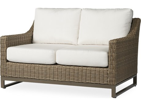 Lloyd Flanders Milan Wicker Loveseat