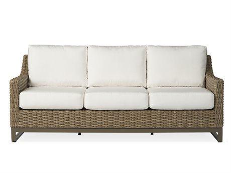 Lloyd Flanders Milan Wicker Sofa