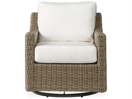 Lloyd Flanders Milan Wicker Swivel Glider Lounge Chair