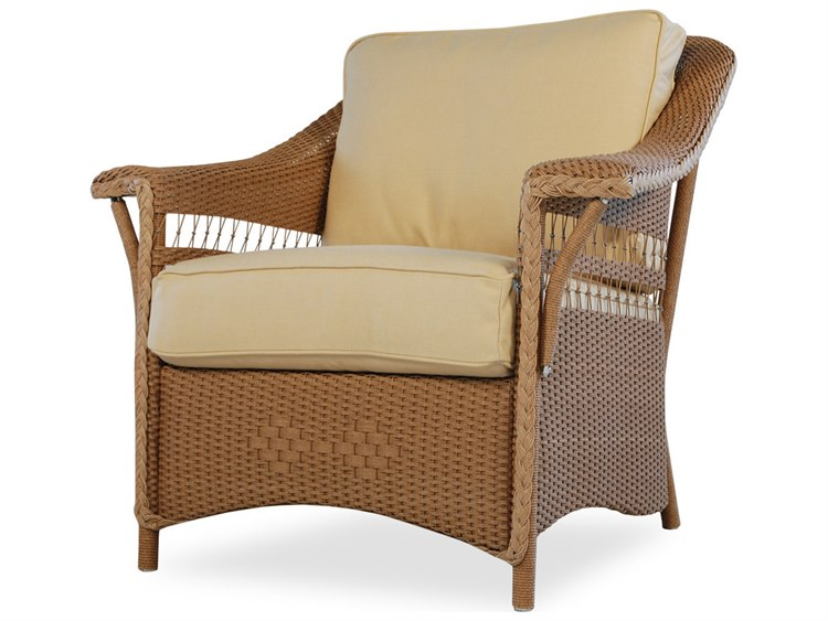 Lloyd Flanders Nantucket Wicker Lounge Chair Lf51002