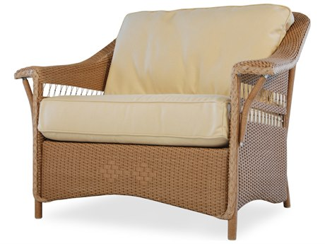Lloyd Flanders Nantucket Wicker Lounge Chair