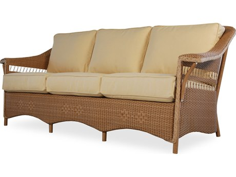Lloyd Flanders Nantucket Wicker Sofa LF51055